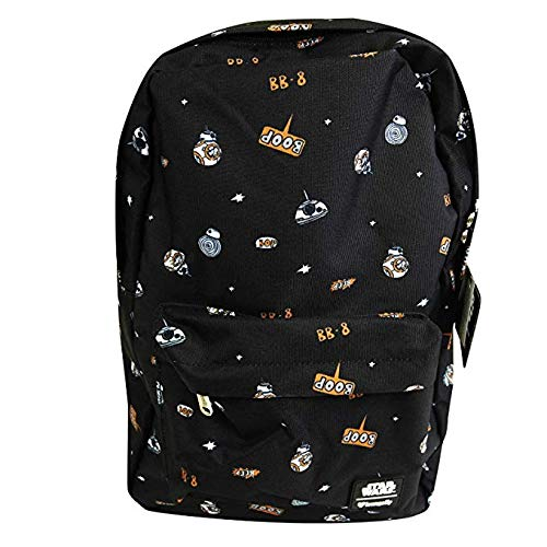 Loungefly x Star Wars Space Droid AOP Backpack (One Size, Black)