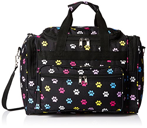 World Traveler 81T16-589  Duffle Bag, One Size, Multi Paws