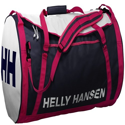 Helly Hansen Duffel 2 Water Resistant Packable Bag with Optional Backpack Straps, 70-liter (Meduim), 689 Evening Blue