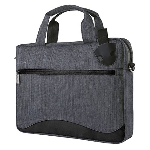 Vangoddy 17 Inch Laptop Bag Anti-Theft Nylon Briefcase For Dell Alienware 17 | Inspiron 17 |