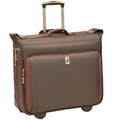 London Fog Kensington Ultra-Lightweight Collection 44inch Wheeled Garment Bag, Bronze