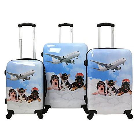 27f3e0996a00 CHARIOT CHD-23 Pilots 3 Piece Luggage Set