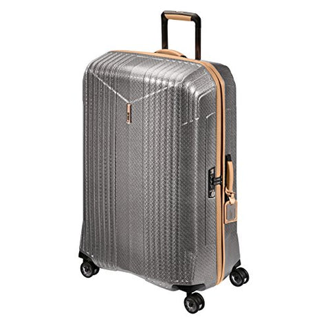 "Hartmann 7R X-Large 32"" Spinner Suitcase, Hardsided Rolling Luggage in Titanium"
