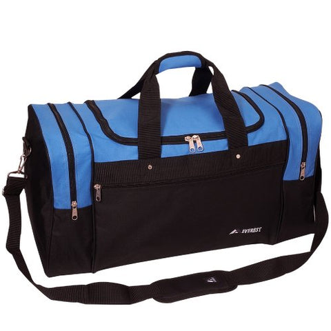 Everest Sports Duffel - Large, Royal Blue, One Size