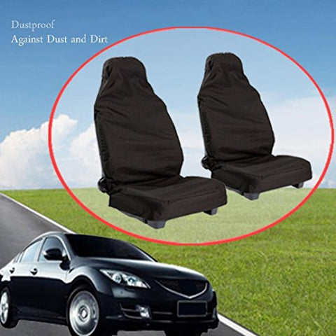 Waterproof Car Seat Protector (2-Pack),Fixwhat Seat Covers for Universal Car seat,Dustproof Car