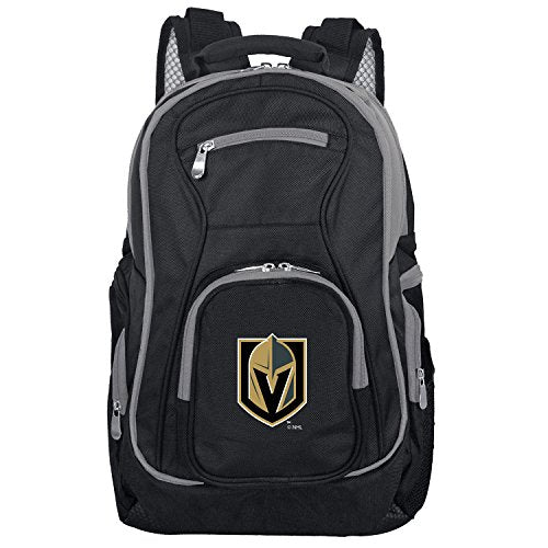 NHL Vegas Golden Knights Colored Trim Premium Laptop Backpack