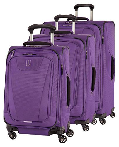 "Travelpro Maxlite 4 Expandable Spinner 3 Piece Set (21""/25""/29""), Purple"