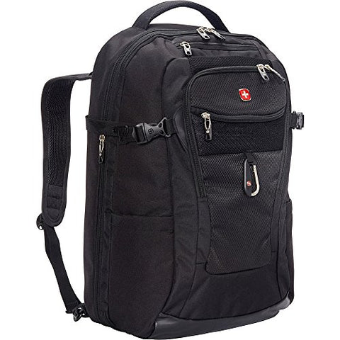 "Swissgear Travel Gear 1900 Travel Laptop Backpack 15"" - Ebags Exclusive (Black)"