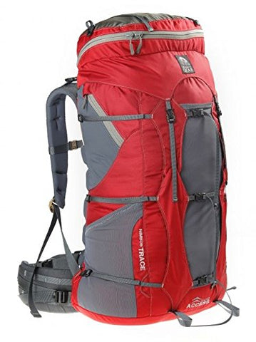 Granite Gear Women's Nimbus Trace 85 Ki Backpack, Red/Moon Mist, Short