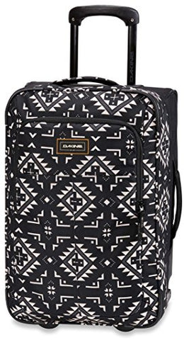 Dakine Carry On Roller 42L Wheeled Travel Bag (Silverton Onyx)