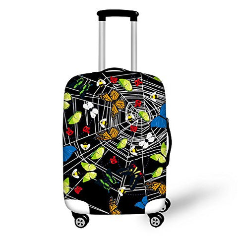 "Bigcardesigns Spandex Luggage Protective Covers for 26""-30"" Suitcase Elastic"