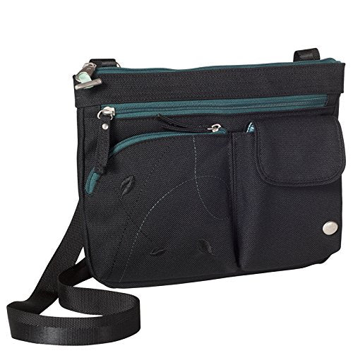 Haiku Women's Wanderlust Eco Crossbody Handbag, Black Juniper