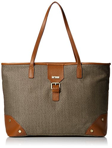 Hartmann Herringbone Luxe Softside Shoulder Bag, Terracotta Herringbone, One Size