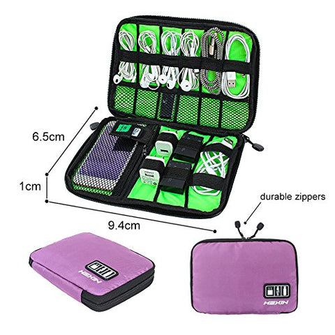 Travel Universal Cable Organizer USB Case Phone Charger Electronic Accessories Organizer Bag