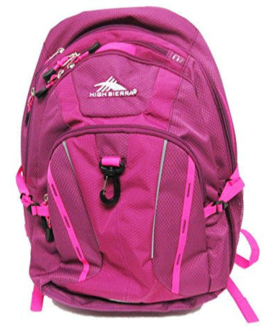 High Sierra Riprap Laptop Backpack-Pink
