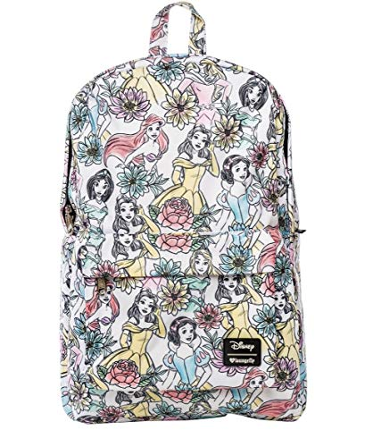 Loungefly Disney Princess Backpack School Bag Jasmine Ariel Belle Snow White