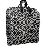 Wallybags 52-Inch Dress Length, Carry-On Fashion Garment Bag With Two Pockets