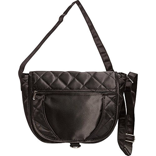 Goodhope Women's Savvy Sling Bag Travel Totes, Black, AP2655-BLACK