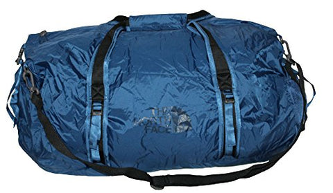 The North Face Unisex Basic Zip FLYWEIGHT DUFFEL L (Estate blue)