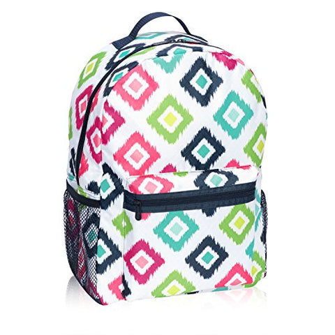 Thirty One Going My Way Backpack In Candy Corners - 8619 - No Monogram