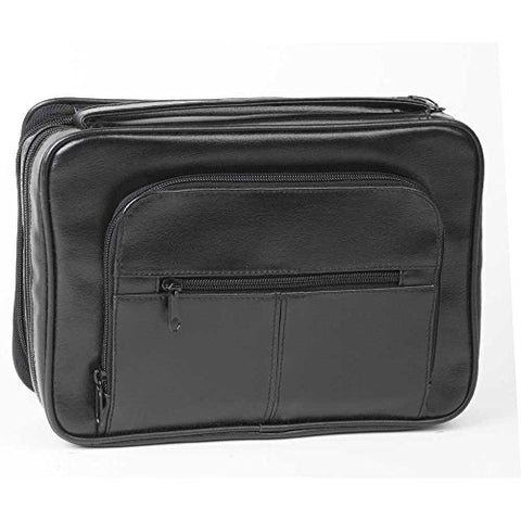 Bible Cover - Deluxe Organizer W/Study Kit-Lrg Black