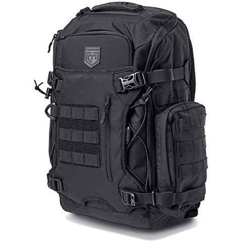 Cannae Pro Gear Legion Elite Day Pack With Helmet Carry, Black