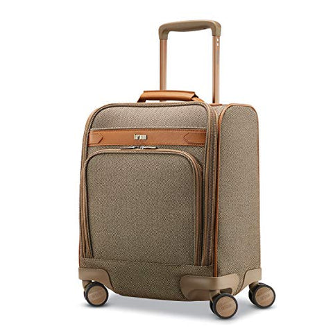 Hartmann Herringbone Deluxe Underseat Carry On Spinner, Terracotta