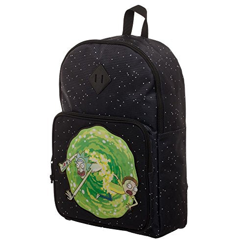 Rick And Morty Backpack - Rick And Morty Portal Bag