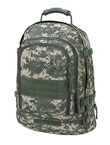 Code Alpha Tactical Gear Three Day Backpack, Army Digital Camouflage, 20 1/2in.x15in.x12 3/4in.