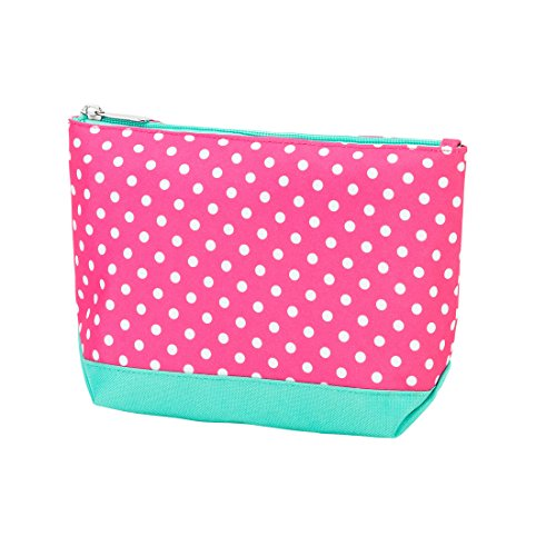 High Fashion Print Small Travel, Purse, Cosmetic Accessory Pencil Bag 9 In - Can Be Personalized