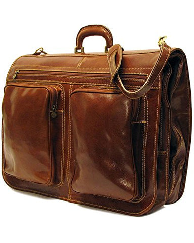 Floto Venezia Garment Bag in Vecchio Brown