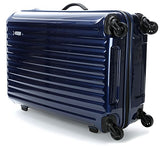 Bric's Riccione 27 Inch Ultra-Light Medium Spinner, Blue Shiny