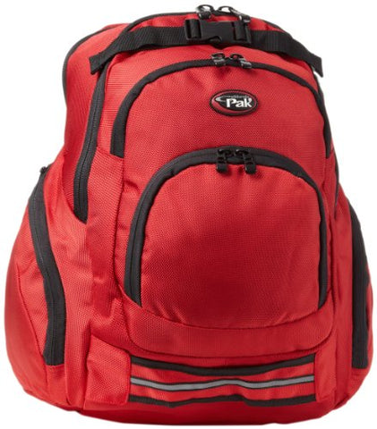 CalPak Rocket 18-inch Deluxe Laptop Backpack, Deep Red, One Size
