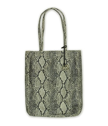 Ecko Unltd. Womens Charmer Tote Handbag Purse Grey