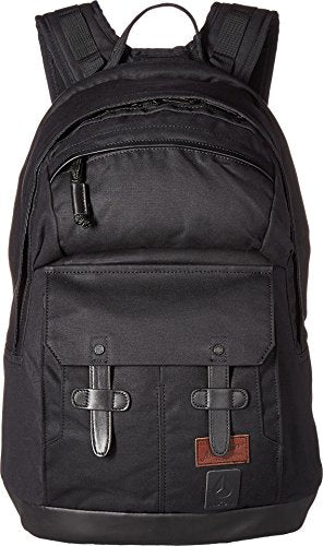 Nixon Unisex The West Port Backpack All Black One Size