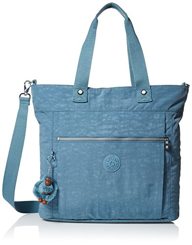 Kipling Women's Lizzie Solid Tote, Blue Bird