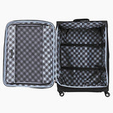 "Travelpro Maxlite 5 | 5-PC Set | Underseater, 21"" Carry-On, 25"" & 29"" Exp. Spinners with Travel Pillow (Black)"