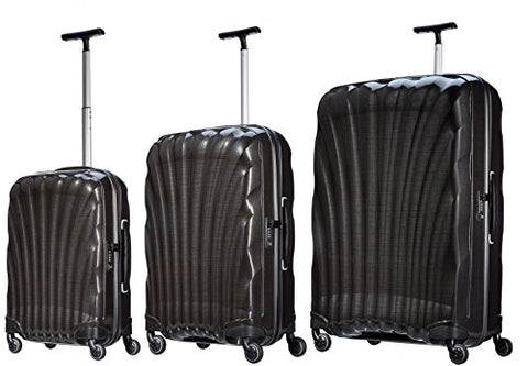 Samsonite Luggage Black Label Cosmolite 3 Piece Spinner Luggage Set (One size, Black)