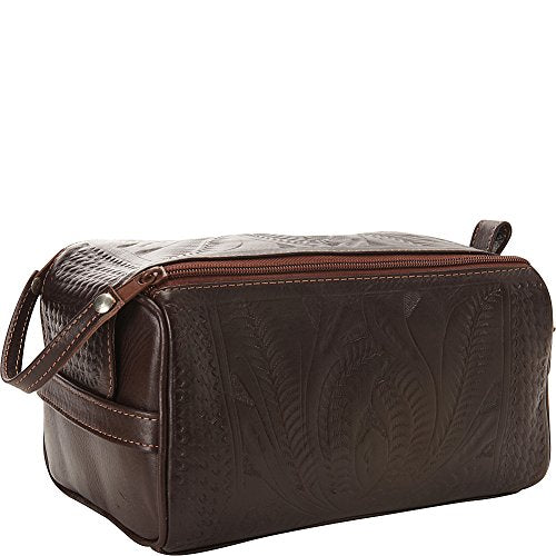 Ropin West Toiletry Bag (Brown)