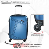 3 Pc Luggage Set Durable Lightweight Spinner Suitecase Lug3 1610 Teal