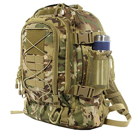ARMYCAMOUSA 40L Outdoor Expandable Tactical Backpack Military Sport Camping Hiking Trekking Bag