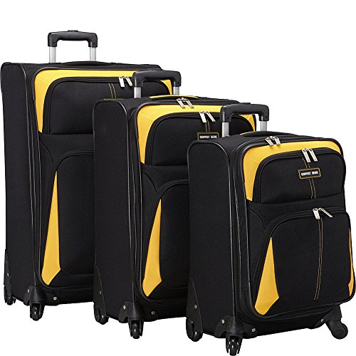 Geoffrey Beene Golden Gate Collection, Black/Yellow, One Size