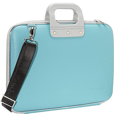 Bombata Classic 17 inch Laptop Bag (Turquoise)
