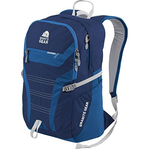 Granite Gear Champ Laptop Backpack (Midnight Blue/Enamel Blue/Chromium)