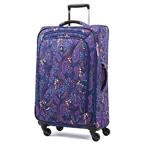 "Atlantic Ultra Lite Softsides 25"" Expandable Spinner, Lulu Navy"