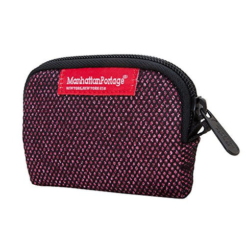 Manhattan Portage Coin Purse Midnight, Burgundy, One Size