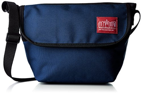 Manhattan Portage Nylon Messenger Bag XXS, Navy, One Size