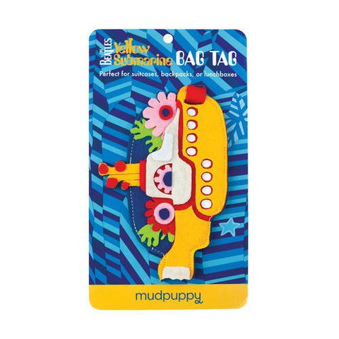 Mudpuppy The Beatles Yellow Submarine Bag Tag