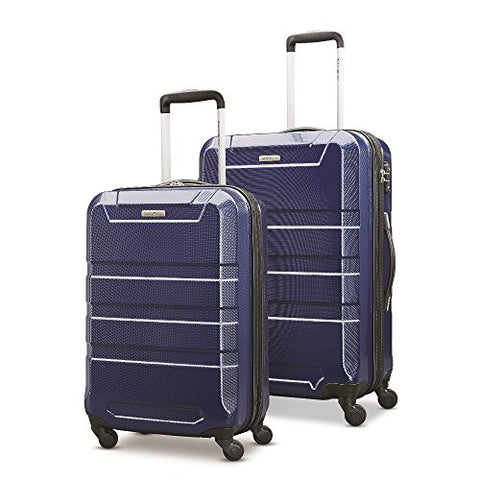 "Samsonite Invoke 2 Piece Nested Hardside Set (20""/24""), Navy Blue, Only at Amazon"