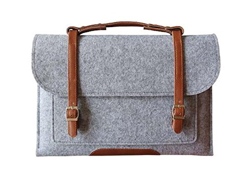 Creative Laptop Computer Briefcases Computer Laptop Bag Laptop Sleeve(Gray)